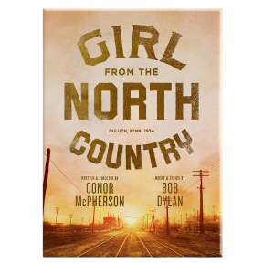 Girl from the North Country Logo Magnet